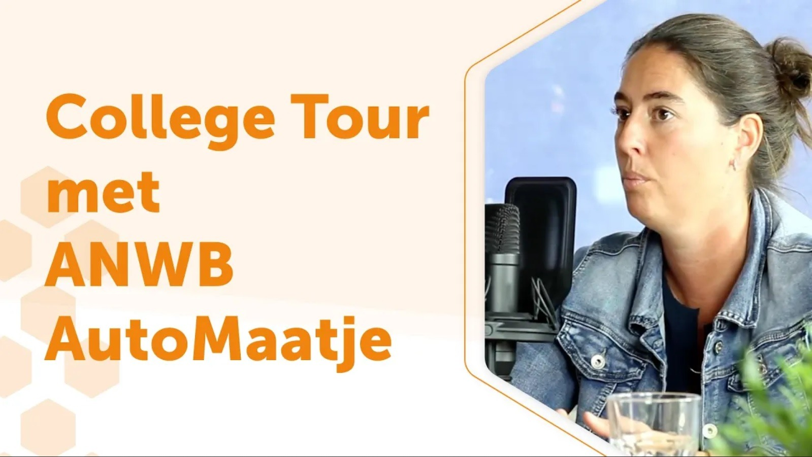 College Tour met ANWB AutoMaatje