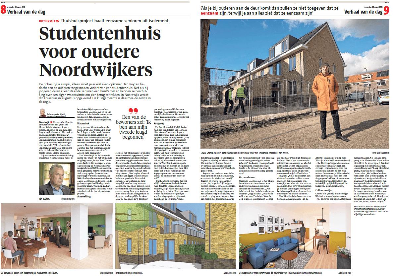 Studentenhuis voor oudere Noordwijkers